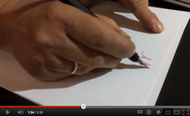 Papel de calidad para escribir con pluma estilográfica