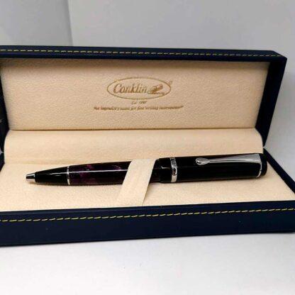 Conklin Duragraph Purple Nights bolígrafo