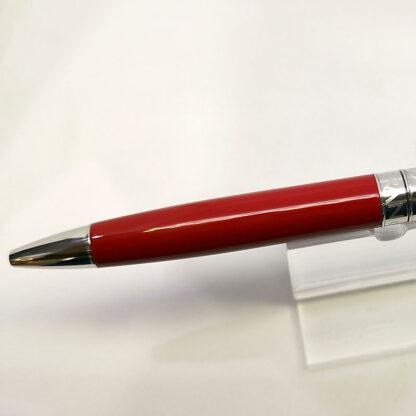 bolígrafo leman bicolor rojo